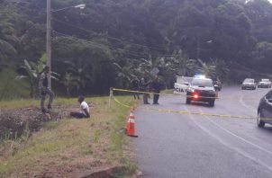Frustran robo en la carretera Panamá-Colón.
