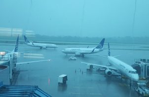 El Sinaproc advirtió que el mal tiempo afectará la capital hasta primeras horas dela noche de hoy jueves 28 de noviembre. Foto: Panamá América.