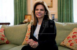 La presidenta de ProColombia, Flavia Santoro, resaltó la importancia del turismo de reuniones. Foto/EFE