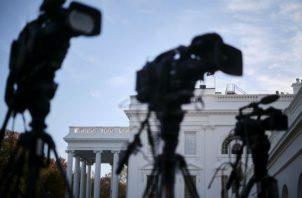 Menos de la mitad de los estadounidenses confía ahora en los medios, reporta Gallup. Una vista de la Casa Blanca. Foto/ T.J. Kirkpatrick.