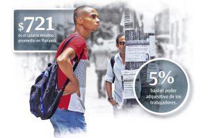 Trabajadores insisten en construir el indicador del costo de vida para determinar la brecha entre salarios y precios.