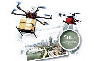 La empresa Multientrega y el banco Banistmo, unieron esfuerzos para realizar los primeros vuelos exploratorios de drones trasladando diferentes productos.