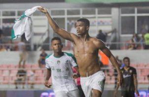 Newton Williams celebra su gol Foto @LPF Panamá
