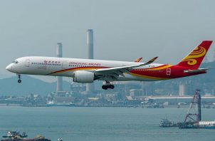 Hong Kong Airlines reveló que no había podido hacer frente al pago de los salarios de algunos de sus empleados en noviembre.
