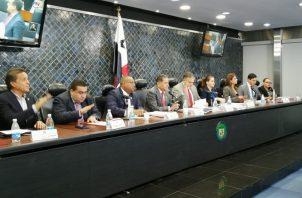 Los magistrados designados por Laurentino Cortizo deben ser ratificados por el Pleno de la Asamblea Nacional. Foto: Asamblea Nacional.