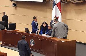 Para ser ratificados los magistrados designados necesitan 36 votos para ser ratificados. Foto: Francisco Paz.