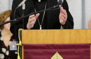 El obispo de Buffalo, Richard Malone, ha sido objeto de duras críticas por presuntos casos de abuso sexual. FOTO/AP