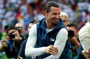 Zlatan Ibrahimovic pasó las últimas temporadas en la MLS. Foto EFE