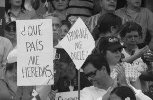 Será que nuestros gobernantes no  se dan cuenta que fueron elegidos para buscar soluciones de Estado, que fueron elegidos para legislar en beneficio de Panamá y no de intereses personales. Foto: Archivo. Epasa.