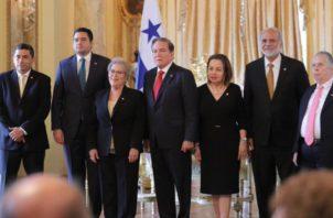 El acto se desarrolló en la Presidencia. Foto de cortesía