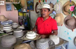 El sombrero pintao se fabrica en La Pintada
