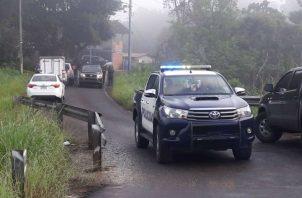 Al lugar llego una ambulancia del 911, pero los paramédicos dictaminaron el deceso de la mujer. Foto: Diómedes Sánchez S.
