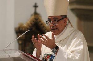 El arzobispo metropolitano, monseñor José Domingo Ulloa, envió un mensaje a las madres en su día.