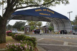 El autor de un tiroteo registrado en una base aeronaval en Pensacola (noroeste de Florida) murió neutralizado por las fuerzas de seguridad. FOTO/EFE