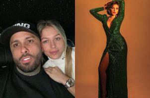 Nicky Jam presentó en redes sociales a su nueva novia, la modelo ydney Moreau. Foto: Día a Día.