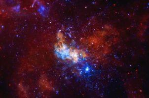 Región alrededor del agujero negro de la Vía Láctea. Foto/ NASA/CXC/Univ. de Wisconsin/Y.Bai, et al.
