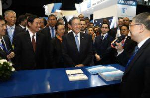 Panamá, que se convirtió en junio de 2017 en el segundo país de la región en entablar relaciones diplomáticas con China. Foto/Cortesía