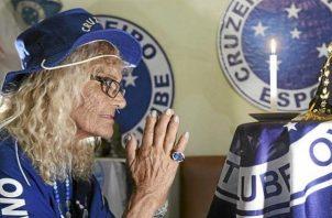 María Salomé da Silva  era reconocida en las calles por cualquier hincha del Cruzeiro.