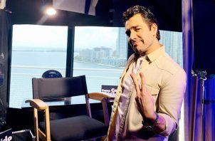 Actor Omar Chaparro. Foto: EFE