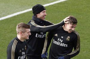 Ramos repasó su carrera.
