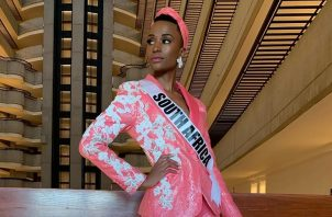 Miss Universo 2019, Zozibini Tinzu. Foto: Instagram