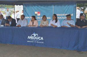 También de capacitará a los docentes del país. Foto/ Belys Toribio