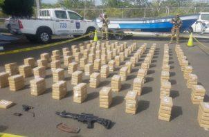 Duro golpe recibió el narcotráfico. Foto: Thays Domínguez.