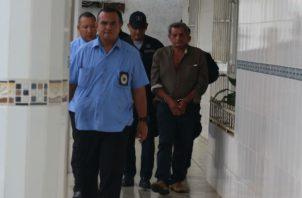 El ahora detenido reside en la comunidad de El Macho de Ponuga. Foto: Melquíades Vásquez. ,