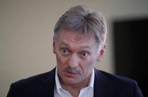 """""""Hemos dicho en diversas ocasiones que EE.UU. se preparó para violar los términos del Tratado INF. Esta prueba confirma elocuentemente que el Tratado fue cancelado por iniciativa estadounidense"""", señaló el portavoz del Kremlin, Dmitri Peskov. FOTO/AP"""