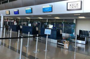 En el primer semestre se movilizaron por el aeropuerto Enrique Malek 131,930 pasajeros. Foto/Cortesía
