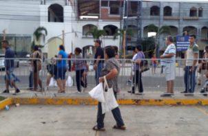 Fueron en total dos mil jamones los que se dispusieron para la venta. Foto/Thays Domínguez