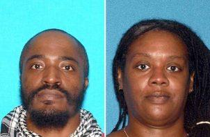 David Anderson (i), de 47 años, y Francine Graham (d), de 50, fueron identificados como los dos pistoleros que protagonizaron el martes pasado un día de terror en un supermercado kósher de Jersey City in Nueva Jersey (EE.UU.) y que luego resultaron muertos durante el enfrentamiento con la policía. FOTO/EFE