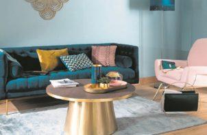 El 'classic blue' aporta una sensación de paz y tranquilidad y ofrece refugio. EFE