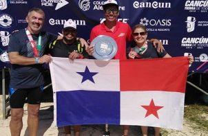 Barría ocupó lo más alto del podio.