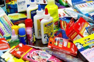 """El próximo año el Ministerio de Educación realizará la entrega de los """"kits"""" escolares. ARCHIVO"""
