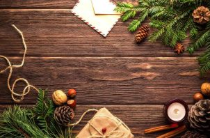 Navidad también brinda la oportunidad de demostrar la conciencia ecológica.