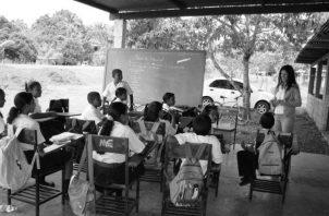 El sistema educativo panameño refleja la inequidad social que existe en el país. Foto: Archivo.
