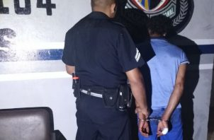El atacante fue aprehendido tras cometer el hecho. Foto: Thays Domínguez.