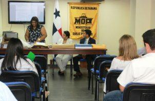 El acto se realizó en las instalaciones del Ministerio de Obras Públicas. Foto: MOP.