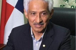 José Ortega Hidalgo presidente de la Cámara de Comercio, Agricultura e Industrias de Colón