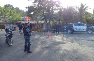 El operativo es debido al control, que según las autoridades, mantienen en esta zona, integrantes de la pandilla que se enfrentó a tiros en la cárcel La Joyita. Foto/Eric Montenegro