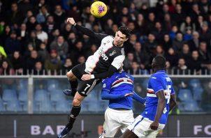 Cristiano Ronaldo dio el segundo salto más alto de su carrera.