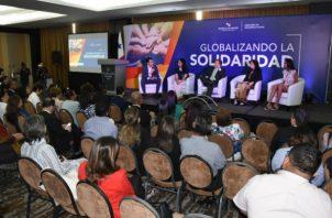 """El evento incluyó la presentación del panel """"Aporte del voluntariado como herramienta para la integración Social"""". Foto: Cortesía."""