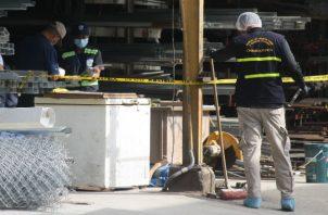 En un rápido operativo se pudo aprehender al presunto victimario. Foto: Eric A. Montenegro.