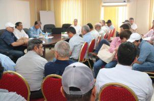 El ministro del MIDA, Augusto Valderrama destacó que ya son cinco meses que no ha entrado ni un quintal de arroz importado.