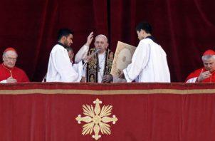 El papa habló de los migrantes, forzados por la injusticia a emigrar. Foto/ AP