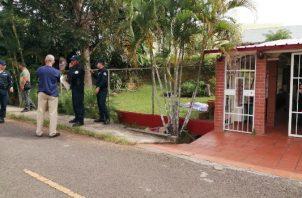 Las autoridades confirmaron que la víctima residía en el corregimiento de Vista Alegre a donde se había mudado luego de salir de prisión. Foto/Eric Montenegro