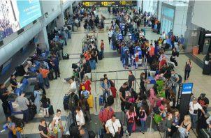 Recomiendan llegar al Aeropuerto Internacional de Tocumen con una anticipación de mínimo 3 horas.