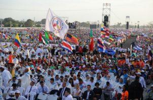 Panamá recibió peregrinos de unos 140 países.