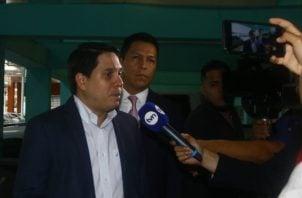 El exdirector de Pandeportes, Mario Pérez, fue citado este viernes por el Órgano Judicial para una audiencia de imputación. Foto Víctor Arosemena